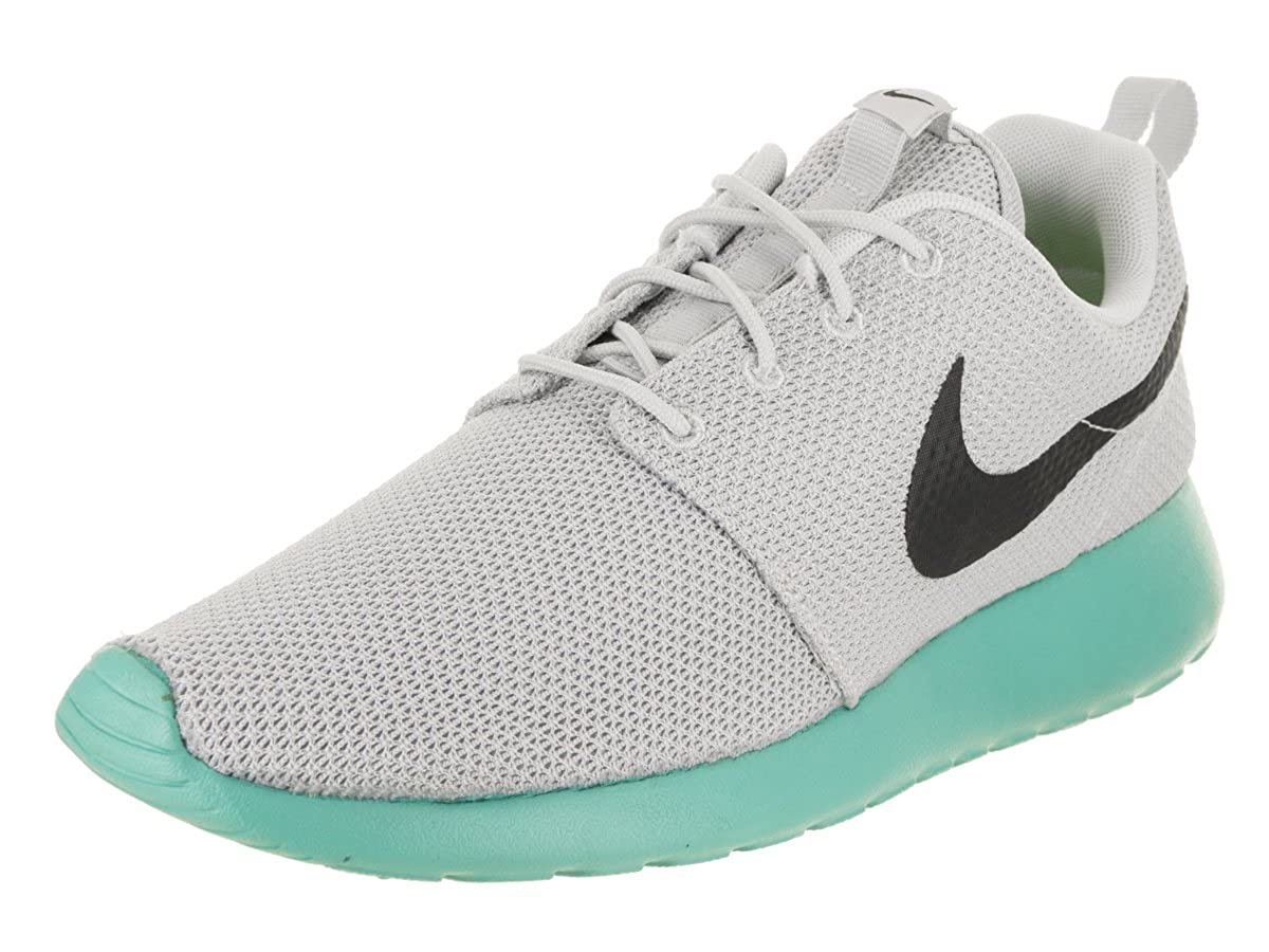 online store ec3b1 80c35 Amazon.com   Nike Men s Roshe One Pure Platinum Anthracite Ankle-High  Running Shoe - 9M   Road Running