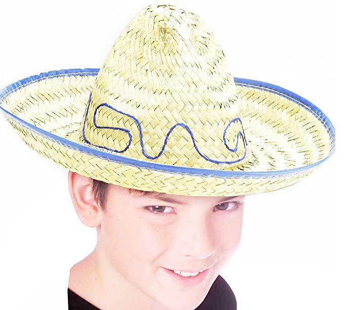 0562af74cc375 Forum Novelties Child Size Mexican Sombrero Western Straw Costume Hat