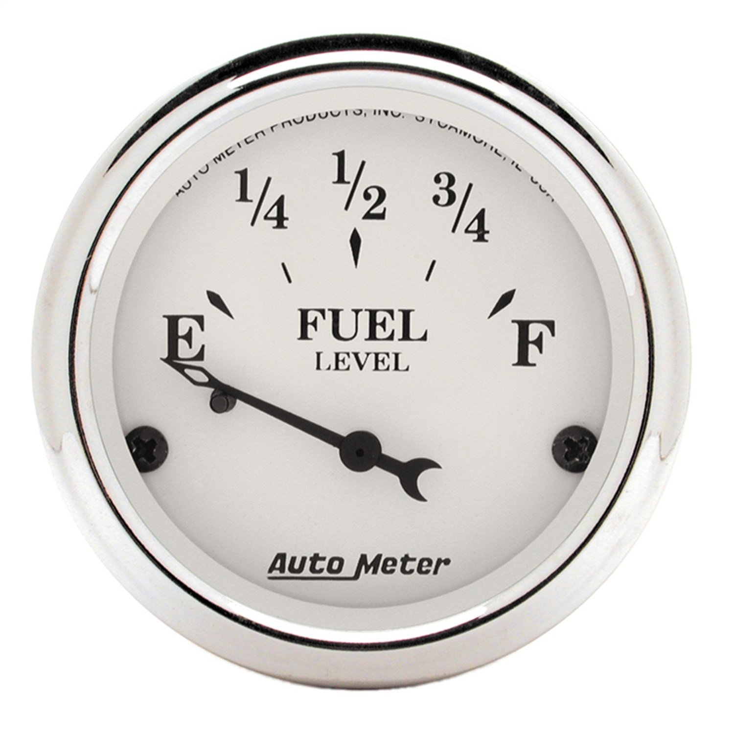 Auto Meter 1605 Old Tyme White Fuel Level Gauge