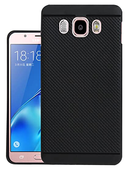 new product 1b348 26c26 Jkobi® 360* Protection Dotted Designed Soft Rubberised Back Case Cover for  Samsung Galaxy J5 2016 - Black