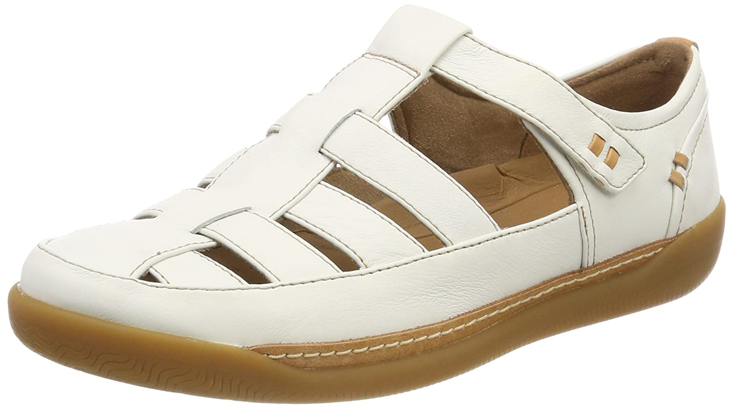Clarks 19995 - Un casual Haven Cove - Chaussures - casual - Femme Blanc (White Leather) 50d7155 - boatplans.space