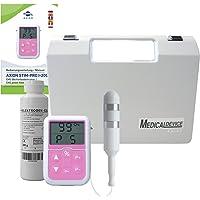 Electroestimulador para suelo pélvico - Ejercitador contra incontinencia urinaria - rehabilitar los músculos- incl.Sonda y Gel de Contacto - axion