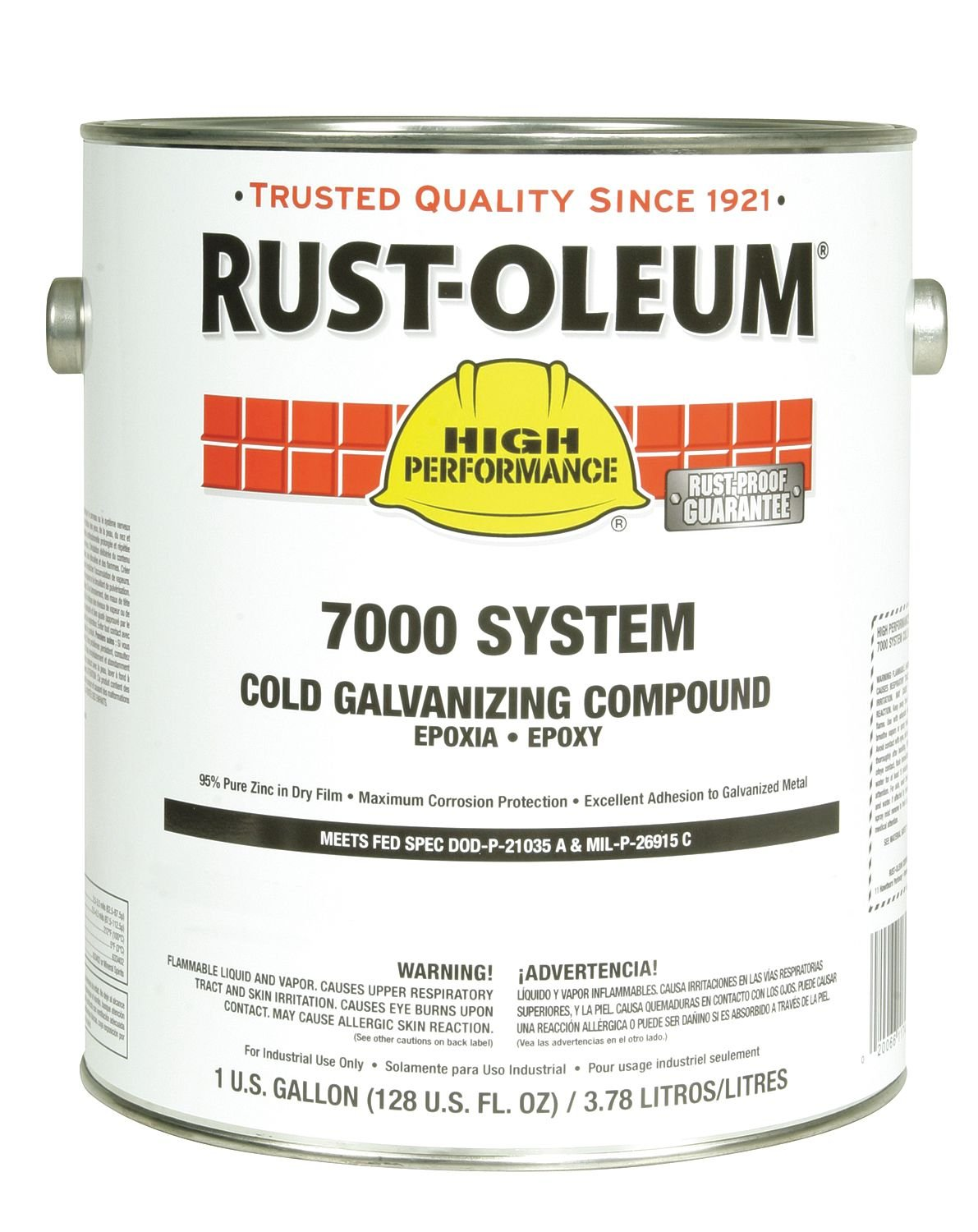 RUST-OLEUM Cold Galvanizing Compound Gray 1 gal