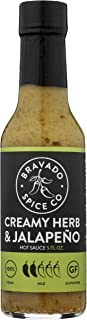product image for BRAVADO SPICE Creamy Herb & Jalapeno Hot Sauce, 5 FZ