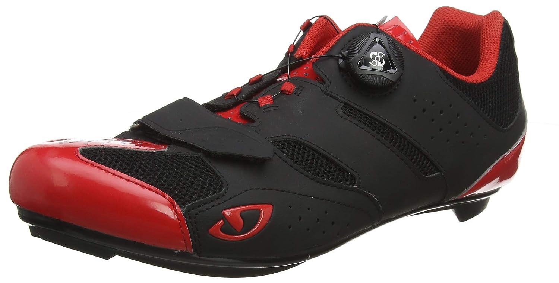 MultiCouleure (Bright rouge noir 000) 43 EU Giro Savix Road, Chaussures de Vélo de Route Homme