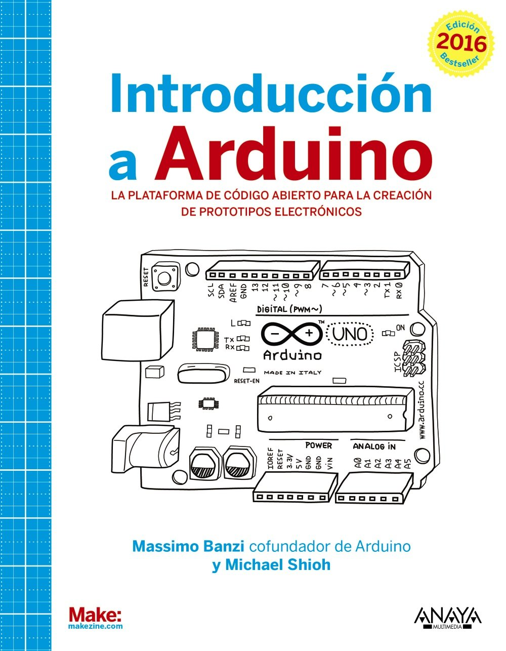 Introducción a Arduino (Spanish) Paperback – September 1, 2015