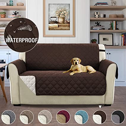 Fabulous Waterproof Reversible 2 Seater Slipcovers For Pets Antifouling Sofa Cover Sofa Slipcover Sofa Protector For Living Room Machine Washable Furniture Lamtechconsult Wood Chair Design Ideas Lamtechconsultcom