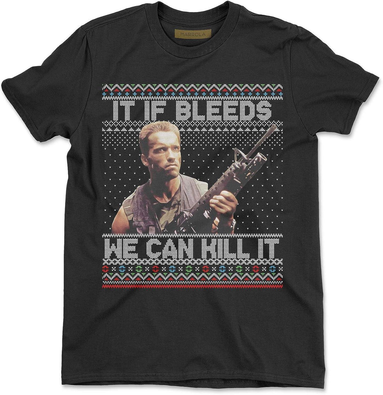 Marrola It If Bleeds We Can Kill It Ugly Christmas T-Shirt