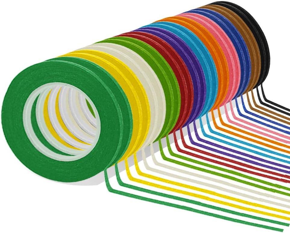 Masking Tape Home & Garden 12 Colors Grid Marking Tape Violin Tape ...