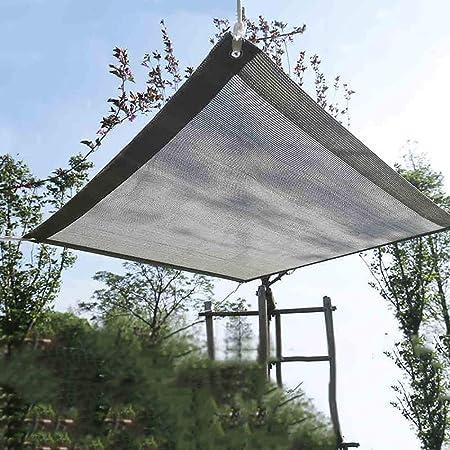 Tela de sombra Heavy Duty Shade Cloth Mesh 90% Sun Block Fabric con Ojales, Jardín Al Aire Libre/Toldo De Pantalla De Sala De Sol, Gris (Size : 1mx4m): Amazon.es: Hogar