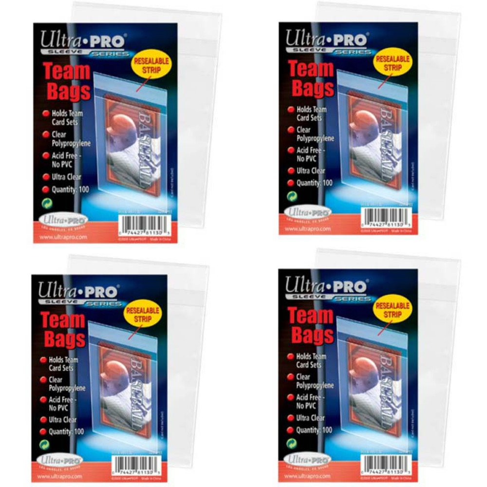 risparmia fino al 70% di sconto 400 ultra ultra ultra pro Standard Team Bags 4 Pack Of 100 New Team Set – Value Pack by Ultra Pro  spedizione veloce a te