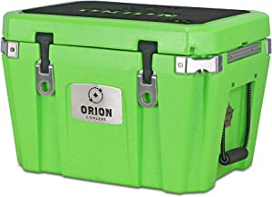 Orion Heavy Duty Premium Cooler (35 Quart, Limestone), Durable Insulated Outdoor Ice Chest for Maximum Cold Retention - Portable, Bear Resistant, and Long Lasting, Great for Hunting, Fishing, Camping
