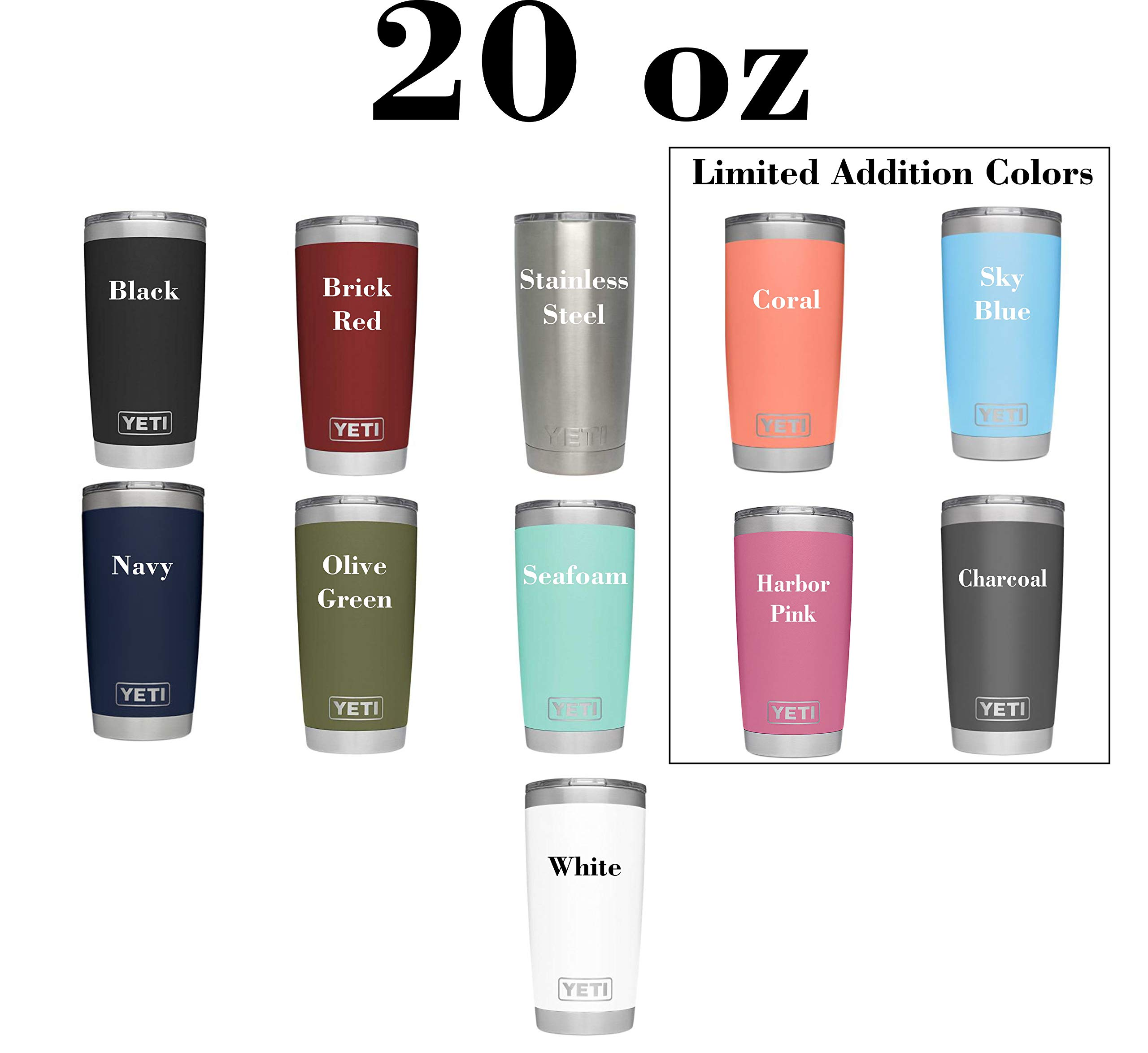 New Pink Yeti Limited Addition Personalized Yeti Tumbler Engraved Yeti Rambler 20 Oz Yeti 30 Oz Yeti Personalized Yeti Yeti Gift Laser