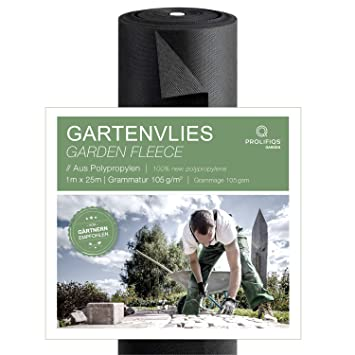 3,2x10 Gartenvlies Gartenflies Mulchfolie Unkraut 32m²
