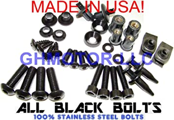 750 K1 2001 2002 2003 Complete Fairing Bolt Screws Kit for Suzuki GSX-R 600