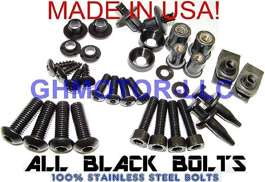 For Suzuki GSXR GSX R 600 750 K6 2006 2007 Complete CNC bodywork Fairing Bolt Screws Kit M5 M6