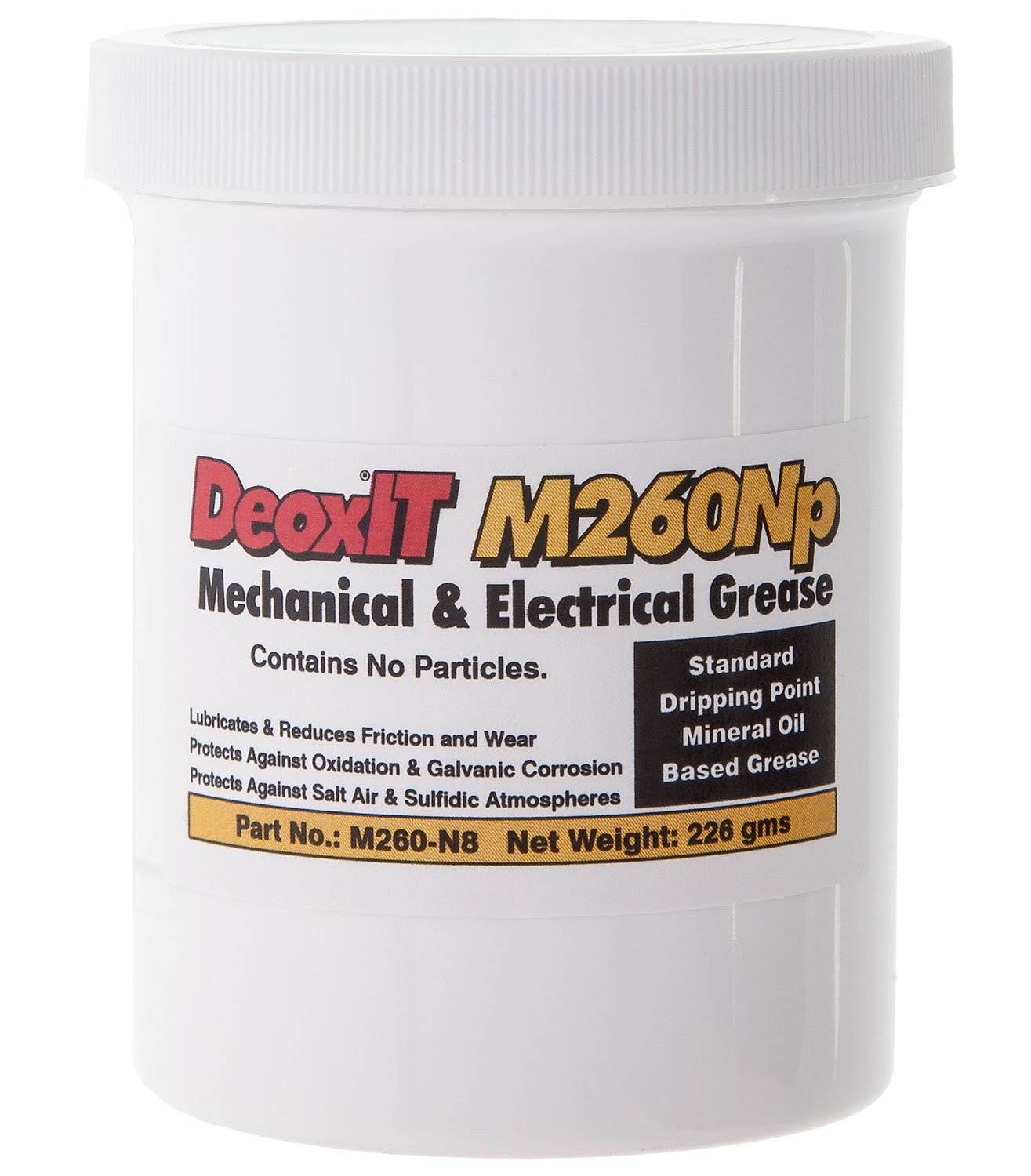 DeoxITM260 Grease M260Np, jar no particles 226 g by CAIG Laboratories