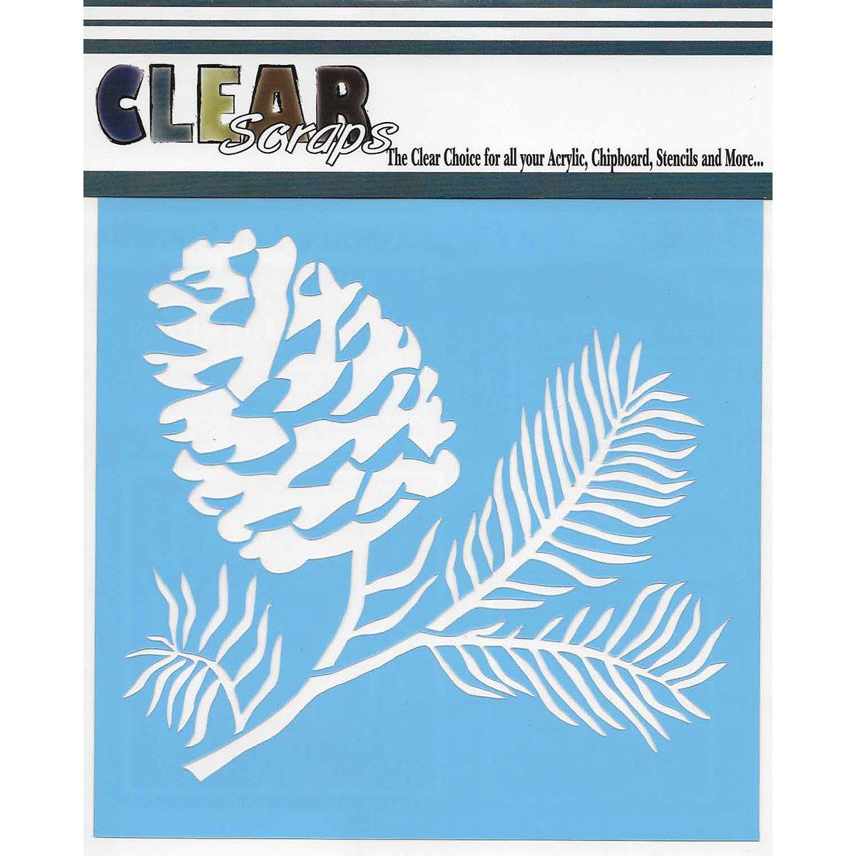 クリアスクラップス クリアーリー マイアクリル レターページ 9.5 x 5インチ 6パック B007WDPILE