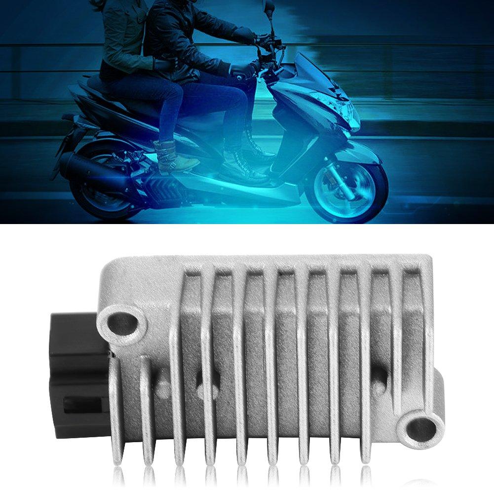 Qii lu Aluminum Motorcycle Voltage Regulator Rectifier for Yamaha TT250 TT225 SRX600 TDM850 TW200 FZR400 FZR600