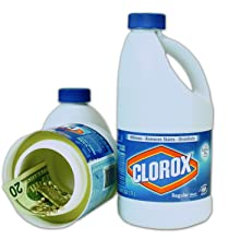 Clorox Bleach Large 55oz Bottle Diversion Safe Review