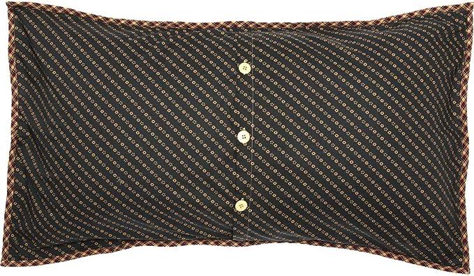 VHC Brands 10428 Patriotic Patch Luxury King Quilt 105x120