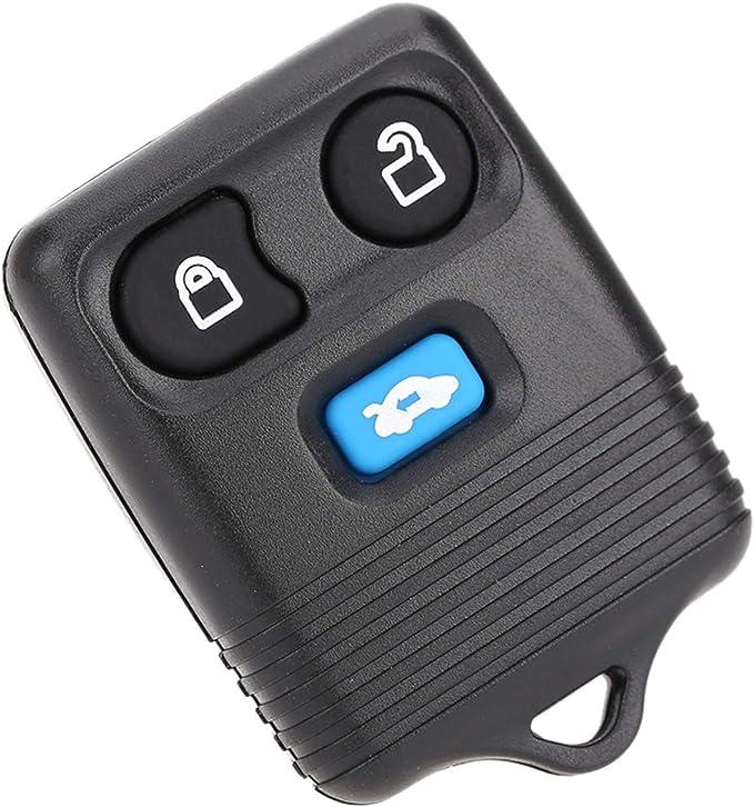 Kkmoon 3 Tasten Remote Schlüssel Ersatz 433mhz Für Auto Elektronik