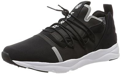 Furylite X, Sneakers Basses Homme, Noir (Black/White), 43 EUReebok