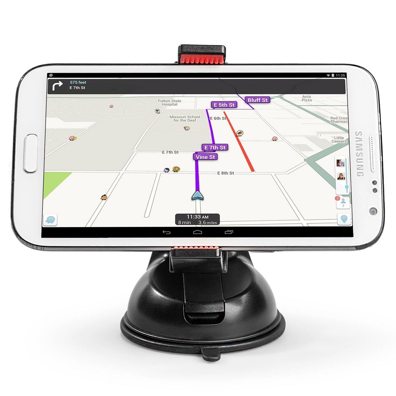 Power Theory Soporte de Móvil para Coche Incluye una Almohadilla de 3M en el Salpicadero para Superficies Desiguales, Compatible con iPhone XS MAX X 8 7 ...