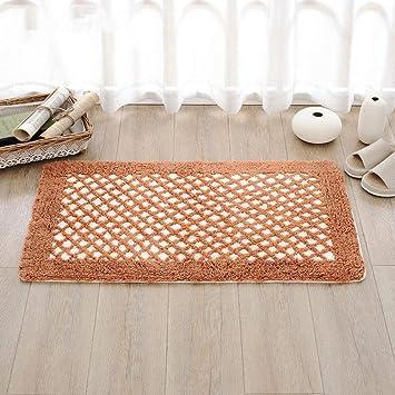 SMALL MAP Chenille Mats Cotton Toilet Colchones Colchones Cojines,AA,50x80cm (20x31inch): Amazon.es: Hogar