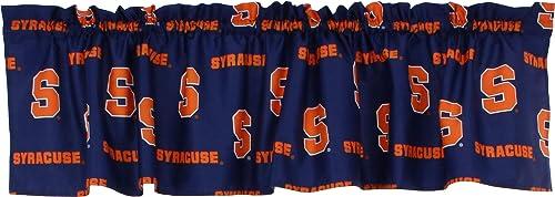 College Covers NCAA Curtain Valance, 84 x 15 , Syracuse Orange