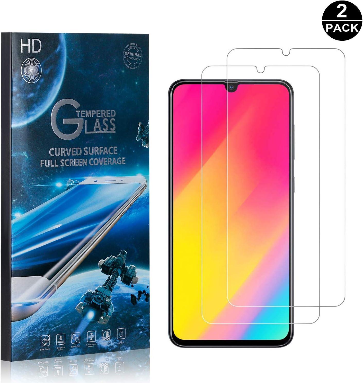 SONWO Cristal Templado Galaxy A70, Anti-burbujas, Anti-despegamientos, Anti-arañazos, Protector Pantalla para Samsung Galaxy A70, 2 Piezas: Amazon.es: Bebé