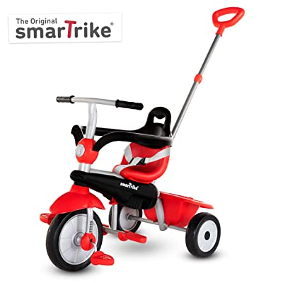 smarTrike Breeze Toddler Tricycle for 1,2,3 Year Olds - 3 in 1 Multi-Stage Trike, Red: Toys & Games