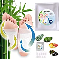 Nuubu Foot Patches, Best Natural Cleansing Foot Pads (20 pcs)