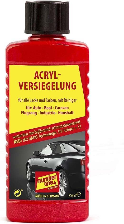 Number One Acrylversiegelung 200 Ml Auto
