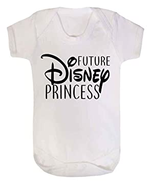 707dbd83c5a4 Future Disney Princess Baby Vest Babygrow Bodysuit Baby Shower Gifts Baby  Girl Gifts White (0
