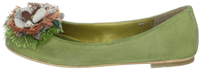 Aida leather 66.30182.2095, Damen Ballerinas, Grün (Lime), EU 36 Maruti