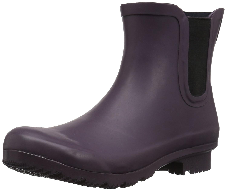 Matte eggplant Roma Boots Women's Chelsea Rain Boots