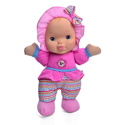 "Baby's First Kisses 13"" Soft Body Machine Washable Kisses Baby Doll for Boys and Girls 12 Months+: Toys & Games"