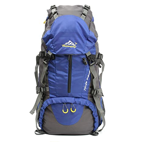 OUTERDO - Mochila de senderismo, 50 l, de camping, viaje/senderismo,