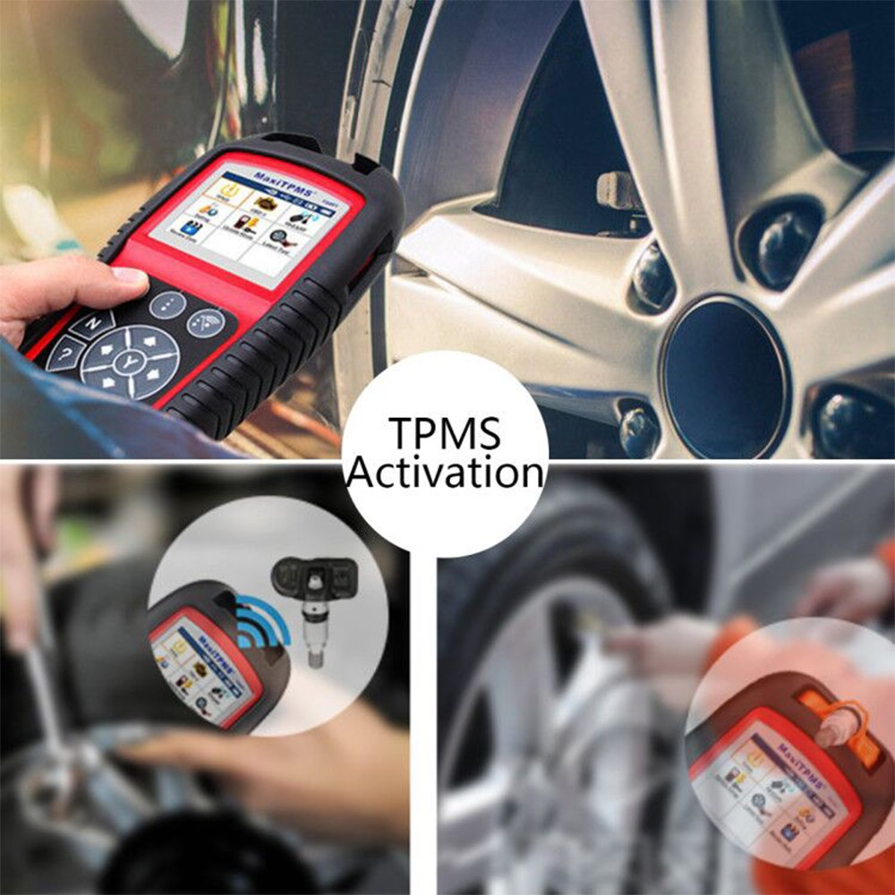 Autel MaxiTPMS TS601 Wirelessly Diagnosing TPMS Reprogramming Activation Relearn Tool With Basic OBDII Code Reader Function by Autel (Image #3)