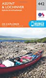 Ordnance Survey Explorer 442 Assynt & Lochinver Map With Digital Version