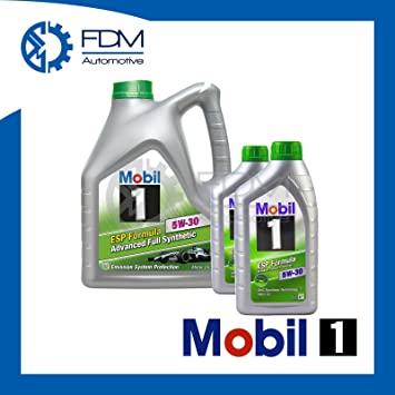 Aceite Motor Mobil1 ESP Formula 5W-30 Fully Synthetic 5W30 6 L ...