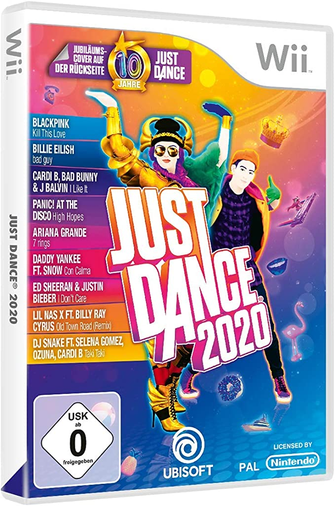 Just Dance 2020 - [Nintendo Wii] [Importación alemana]: Amazon.es ...