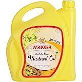 Ashoka Kachi Ghani Mustard Oil, 5 L