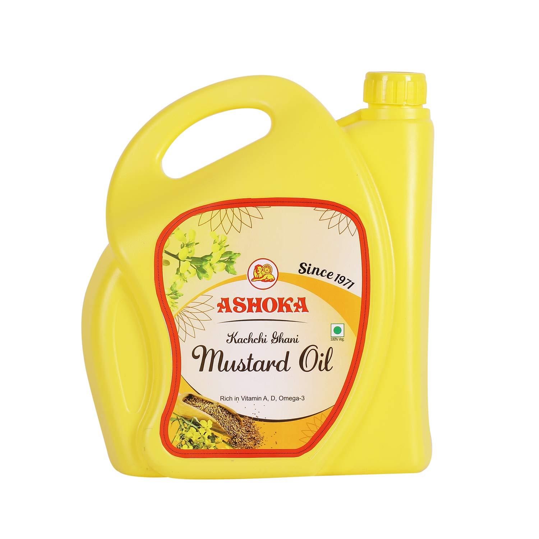 Ashoka Kachi Ghani Mustard Oil