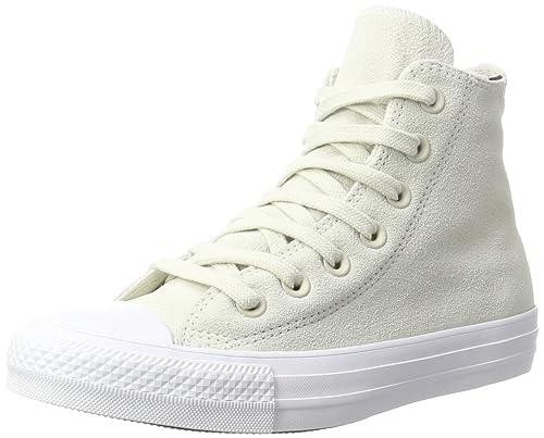 Converse Collo Ctas Hi Buff/White Sneaker a Collo Converse Alto Unisex Adulto n9j 5ac9c0