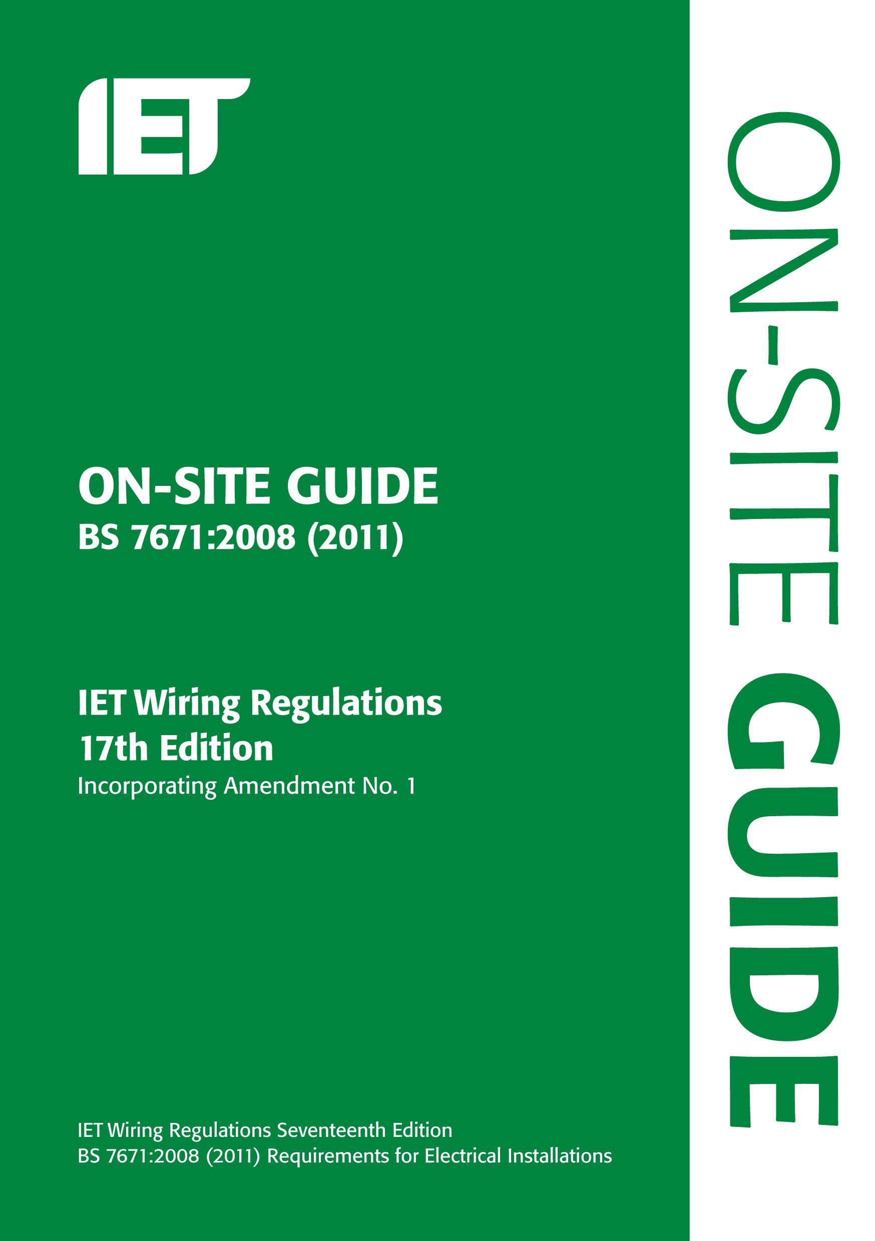 on site guide bs 7671 2008 wiring regulations incorporating rh amazon co uk 17th edition wiring regs exam questions 17th edition wiring regs mock exam