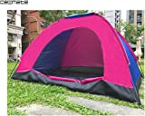 Lovely Summer Outdoor 2 Person Folding Tent C&ing Hiking Waterproof Layer 3 Season Dome (Random  sc 1 st  Amazon.com & Amazon.com : 3 Man Tent with Large Vestibule : Sports u0026 Outdoors