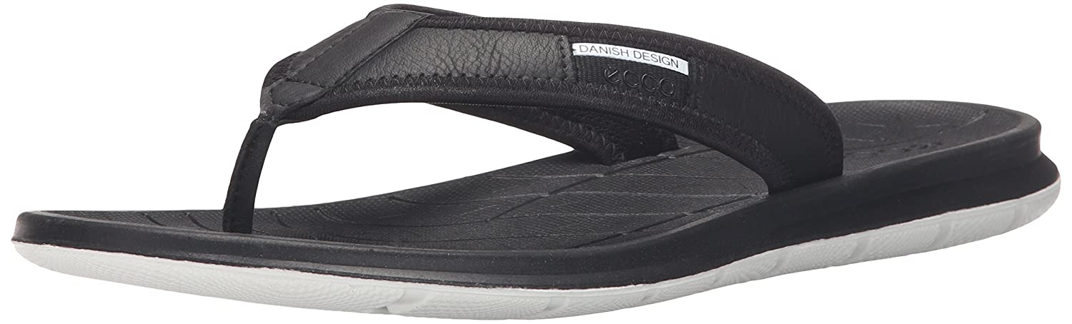 77e225ee17 Amazon.com | Ecco Men's Intrinsic Toffel Thong Sandal | Sandals