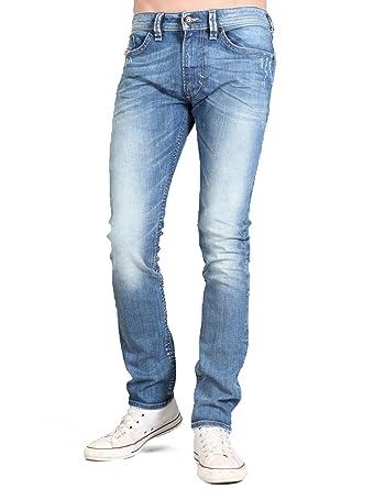 f4571dfa Diesel Thavar 8w7 Straight Blue Man Jeans Men - W31 L34: Amazon.co.uk:  Clothing